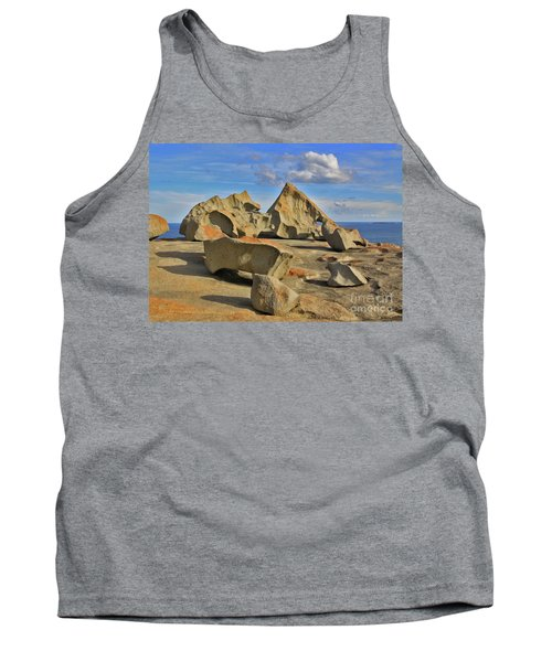 Stone Sculpture Tank Top by Stephen Mitchell