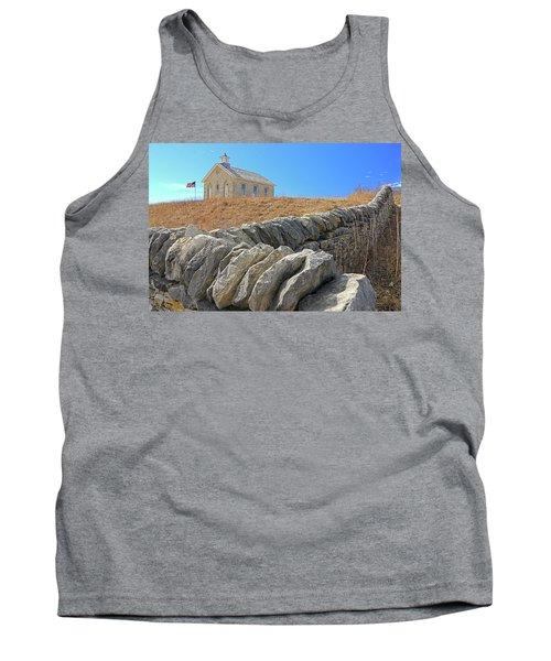 Stone Wall Education Tank Top