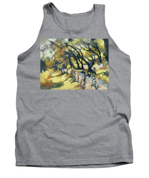 Stone Wall Olive Grove Terrace Tank Top