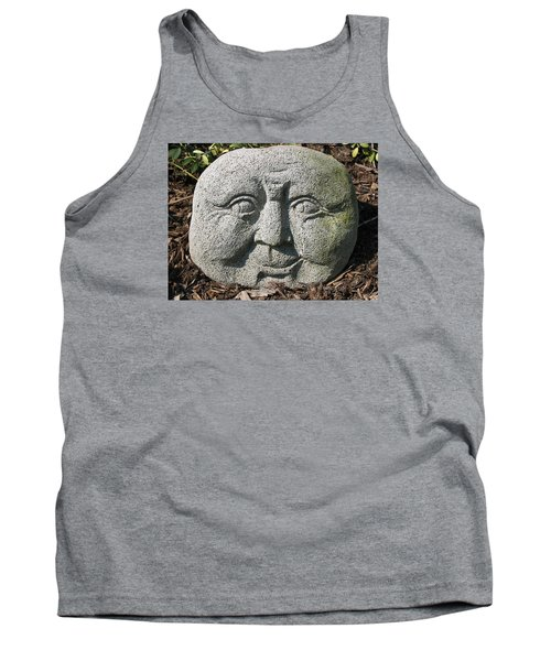 Tank Top featuring the photograph Stoneface by Charles Kraus