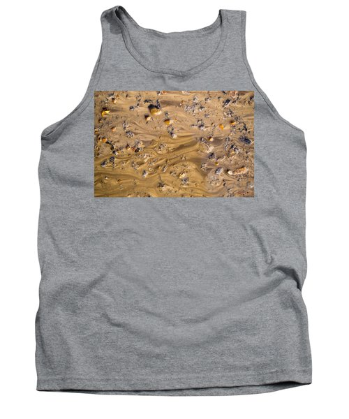 Tank Top featuring the photograph Stones In A Mud Water Wash by John Williams