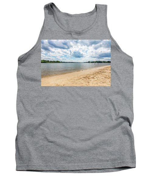 Sand, Sky And Water Tank Top