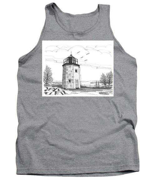 Stony Point Lighthouse Tank Top