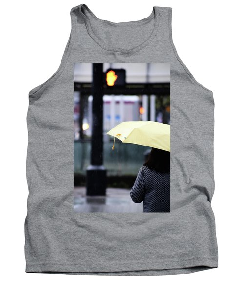 Tank Top featuring the photograph Stop To Thoughts  by Empty Wall