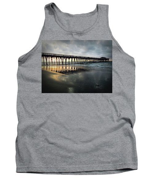 Storm At Sunrise In Color Tank Top
