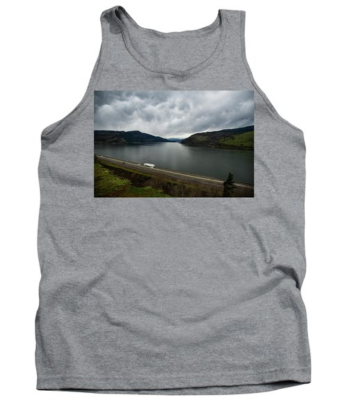 Storm Brewing On The Columbia Tank Top