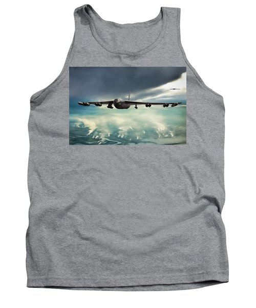 Tank Top featuring the digital art Storm Cell by Peter Chilelli