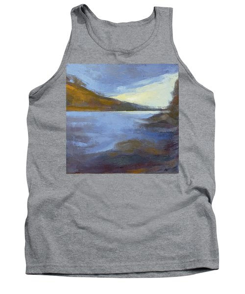 Storm Clouds Break Over The River Gorge Tank Top