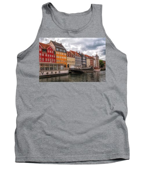 Storm Clouds Over Nyhavn Tank Top