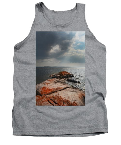 Storm Clouds Over Wall Island Tank Top