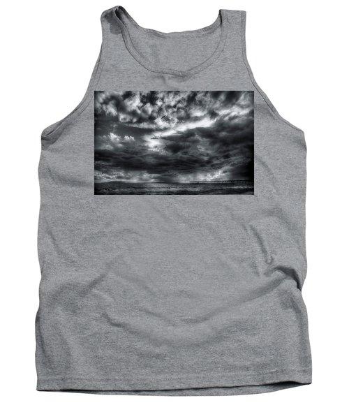 Storm Clouds Ventura Ca Pier Tank Top