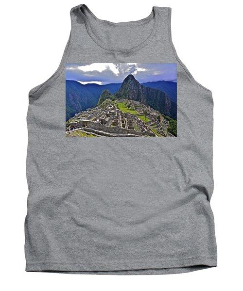 Storm Inbound To Machu Picchu Tank Top