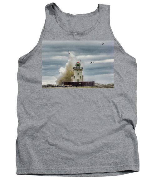 Storm On Lake Erie Tank Top