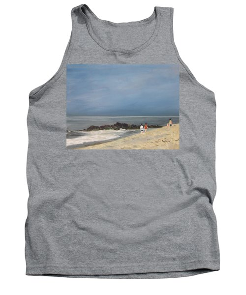 Storm Out To Sea Tank Top