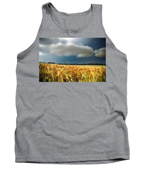 Storm Over Ripening Wheat Tank Top