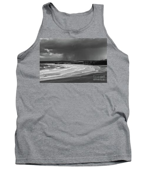 Tank Top featuring the photograph Storm  Over The Bay by Nicholas Burningham