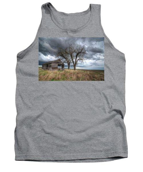 Storm Sky Barn Tank Top