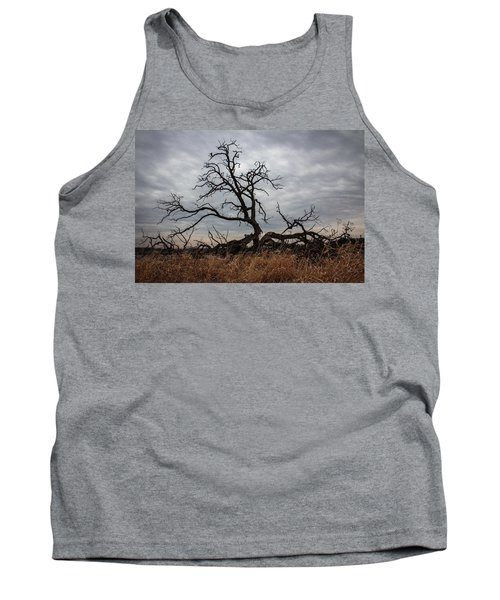 Storms Make Trees Take Deeper Roots  Tank Top