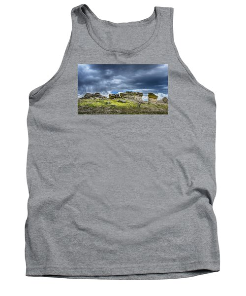 Stormy Peak 3 Tank Top by Mary Angelini