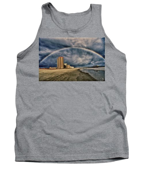 Tank Top featuring the photograph Stormy Rainbow by Kelly Reber