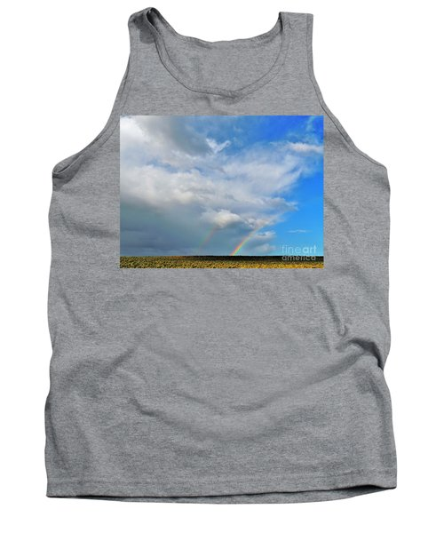 Thunder Storm Rainbow Tank Top by Michele Penner