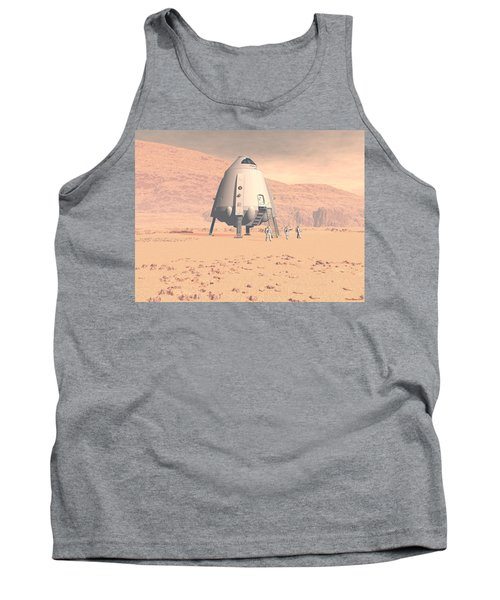Tank Top featuring the digital art Stormy Skies by David Robinson