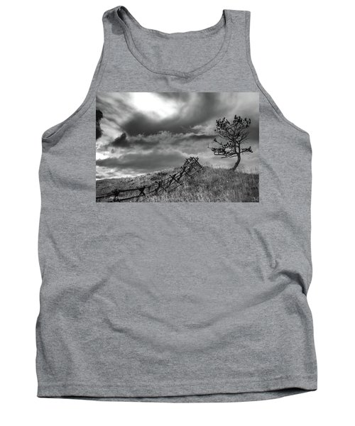 Stormy Sky At The Ranch Tank Top