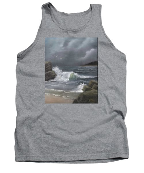 Stormy Waters Tank Top by Sheri Keith