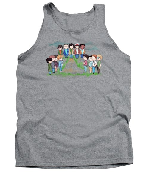Stranger Goonie Stand By Me Things Tank Top