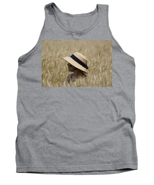 Straw Hat Tank Top