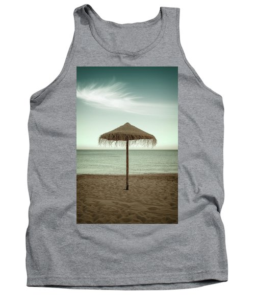 Tank Top featuring the photograph Straw Shader by Carlos Caetano