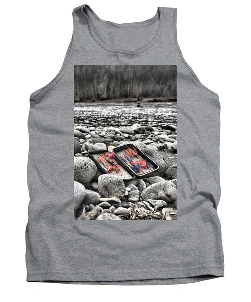 Stream Side Fly Box Tank Top