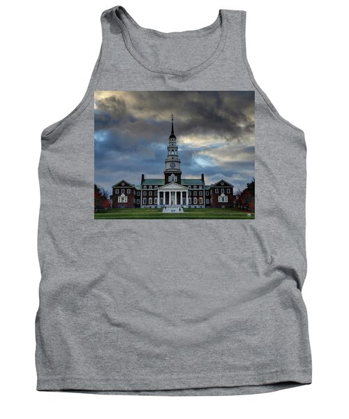 Strength In Turbulence - Cropped Tank Top