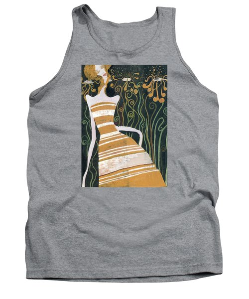 Stripe Dress Tank Top by Maya Manolova