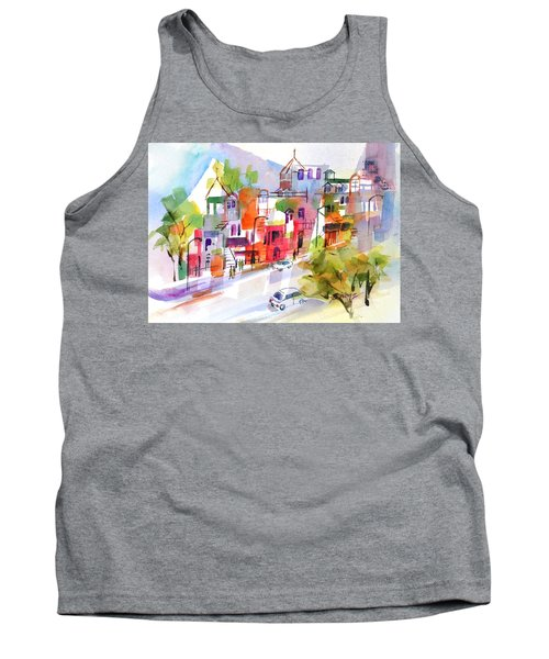 Stroll In Montreal Tank Top by Betty M M Wong