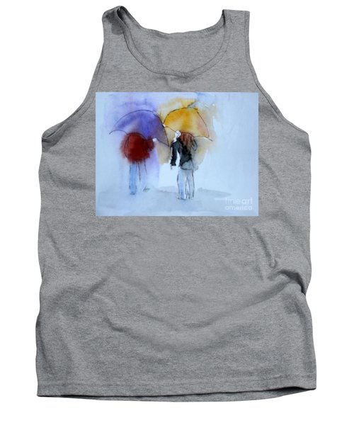 Strolling In The Rain Tank Top