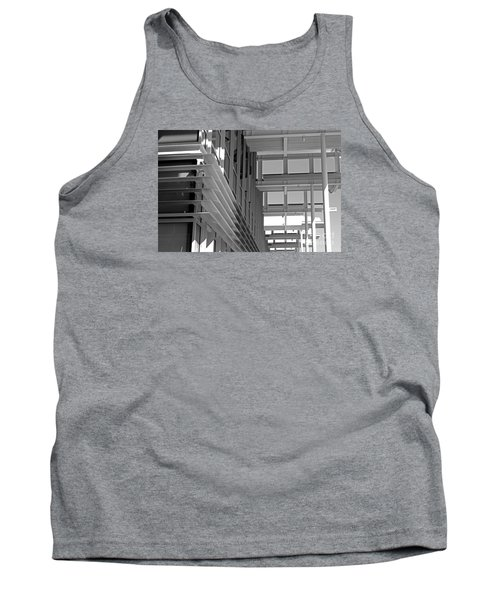 Tank Top featuring the photograph Structure Abstract 2 by Cheryl Del Toro