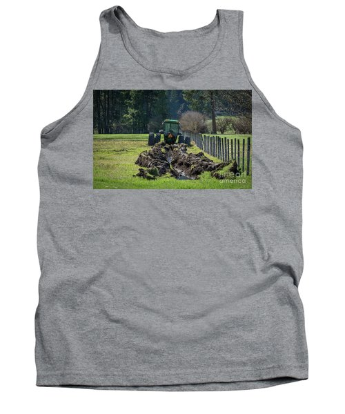 Stuck In The Muck Agriculture Art By Kaylyn Franks Tank Top