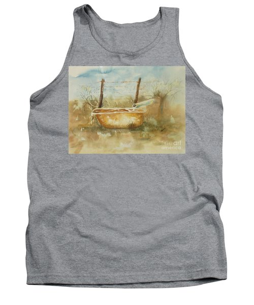 Study Of A Watering Tub Tank Top