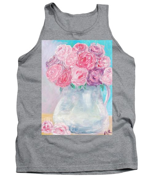Tank Top featuring the painting Study  by Reina Resto