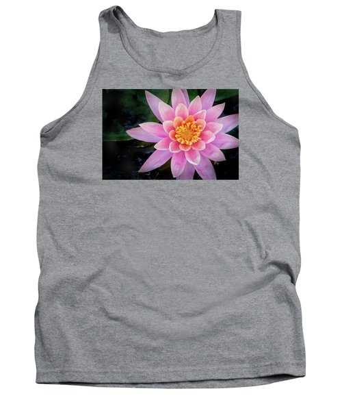 Stunning Water Lily Tank Top