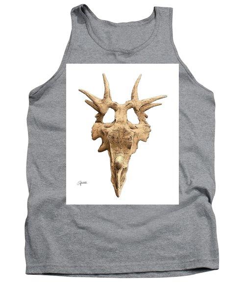 Styracosaur Skull Tank Top