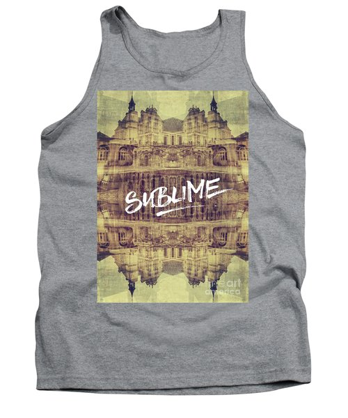 Sublime Fontainebleau Chateau France French Architecture Tank Top