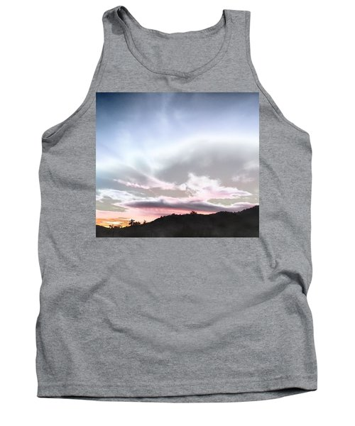 Submarine In The Sky Tank Top