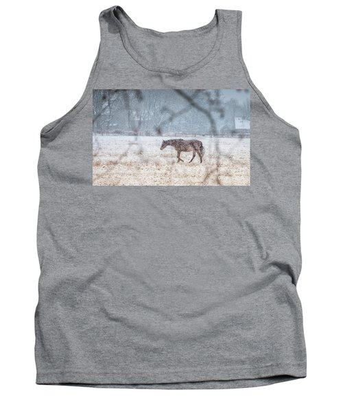 Suburb Of Hamburg.snow Tank Top