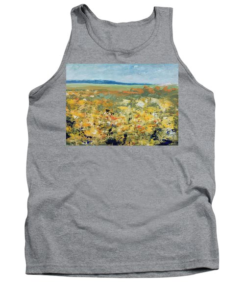 Suggestion Of Flowers Tank Top