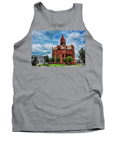 Sulphur Springs Courthouse Tank Top by Diana Mary Sharpton