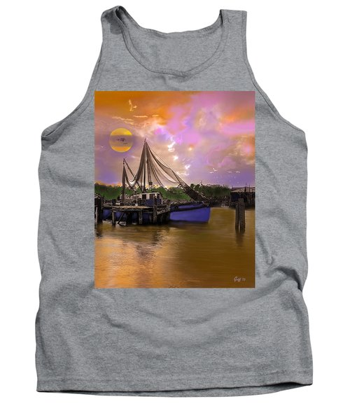 Sultry Bayou Tank Top by J Griff Griffin