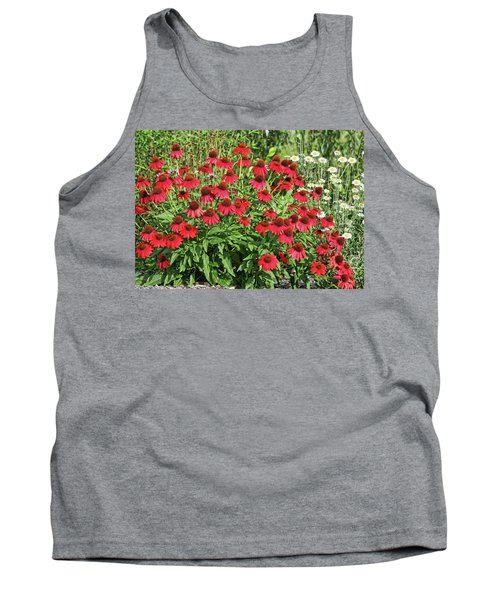 Tank Top featuring the photograph Summer Color by Denise Romano