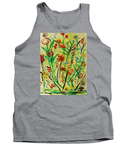 Summer Ends Tank Top by Mary Carol Williams
